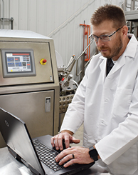 Industrial microwave technology generally requires a smaller footprint