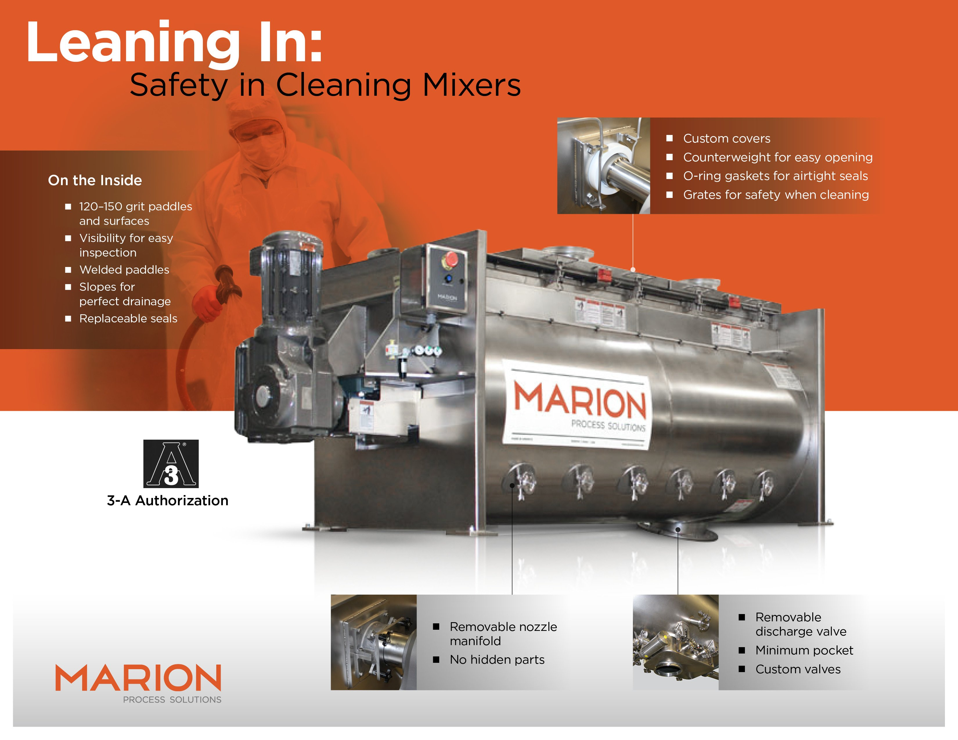 Leaning In: Safety in Cleaning Mixers